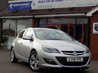 2014 14 VAUXHALL ASTRA 1.6 SRI 5DR * ONLY 25,000 MILES *