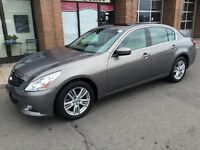 Infiniti G37X TECH PACKAGE NAVIGATION FACTORY WARRANTY Mississauga / Peel Region Toronto (GTA) Preview