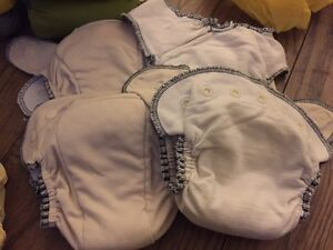 Small cloth diapers