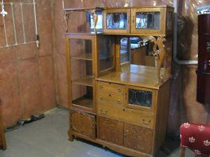 VERY VERY OLD CHINA CABINET