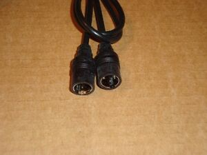 Coaxial cable for TV, VCR, cable box, satellite receiver...