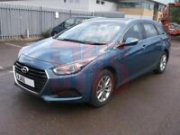2015 Hyundai i40 1.7CRDi Blue Drive S DAMAGED REPAIRABLE SALVAGE