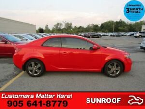 2012 Kia Forte Koup EX  ROOF HEATED SEATS PWR-GROUP GRY-ALLOYS