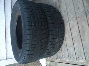 Two 235/70R16 Winter Tires