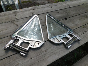 1967-68 Mustang Coup Quarter Windows