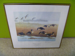 """Heralds Of Spring"" Ducks Unlimited Print"