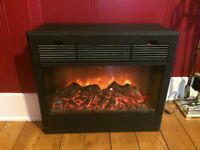 Heat Surge Electric Fireplace!