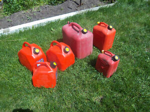 """Jerry Cans"" Gas cans"