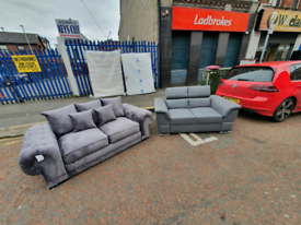 2 brand new ex display 2 seater sofas £345 each