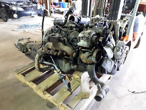 Complete 2000 6.5 turbo diesel motor transmission and transfer c