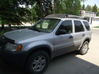 2001 Ford Escape xlt SUV, Crossover with insurance inspection