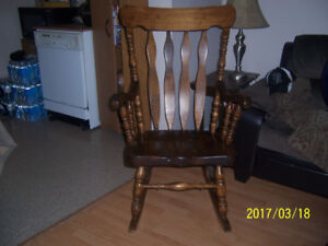 Rocking Chair Old School