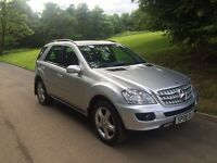 2008 MERCEDES BENZ ML320 CDI FOR SALE!! 69000 MILES!! FINANCE AVAILABLE