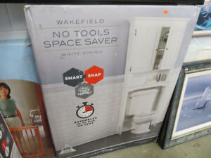 Wakefield No Tools Space Saver in White BNIB!!