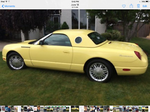 2002 Ford Thunderbid Convertable/Hardtop
