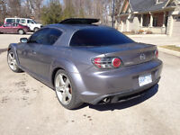 04 MAZDA RX8 GT VERSION, AMAZING PRICE. GORGEOUS CAR WITH 240 HP