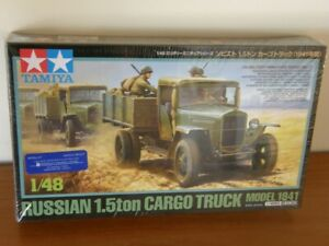 1/48 scale Tamiya - Russian, 1.5t. GAZ-MM(V) Truck