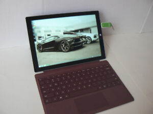 MS Surface pro 3 256ssd 8gbRam + type cover + charger grade A
