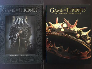 Game of Thrones Season 1and 2