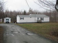 For sale mini home on 1 acre of land!!