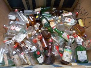 Mini-bouteilles d'alcool