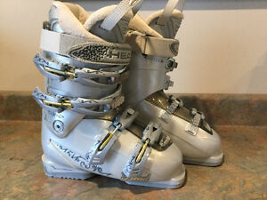 Girls Skiis, Boots and Poles