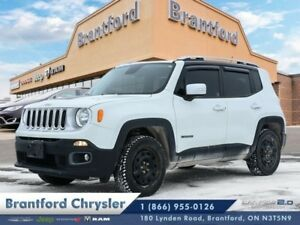 2016 Jeep Renegade Limited  -leather-heated seats-snow tires-nav