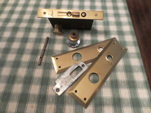 Heritage Restoration - Brass Mortise Lock for Main Entry London Ontario image 8