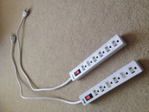 Two Woods Power Bars - 6 Outlets - 1.5 ft. Cord