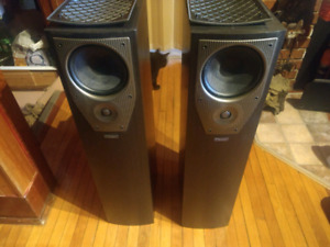 Mission M73i tower speakers