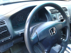 2002 CIVIC with inspection!