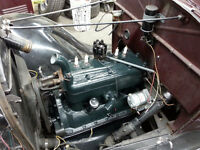 Model A Engine and Running Gear