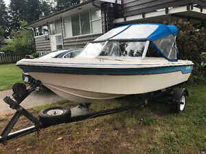 K&C boat with a 09 Suzuki outboard