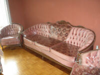 SOFA  ANTIQUE – ANTIC CLASSY LIVING ROOM SET