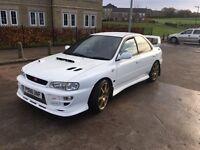 Subaru wrx sti version 4