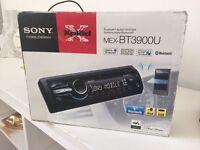 Sony Bluetooth audio system for car