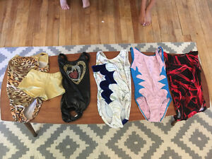 Gymnastics suit lot