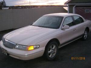 1996 Lincoln Continental spinniker edition low kilo