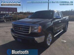 2013 GMC Sierra 1500 SLE  - trade-in - Bluetooth - $198.25 B/W