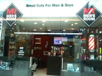 SELF EMPLOYED BARBERS REQUIRED LEEDS WHITE ROSE SHOPPING CENTRE EXCELLENT RATES