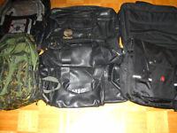 6 sacs pour laptop et voyage en cuir haute gamme a vendre!