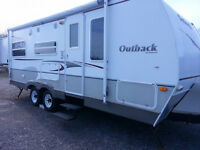 23 foot Keystone Out back tag a long camper trailer!