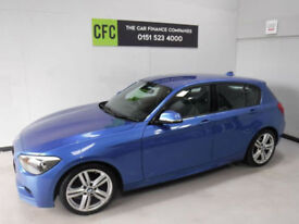BMW 116 2.0TD Auto M Sport BUY FOR ONLY £212 A MONTH *FINANCE* £0 DEPOSIT