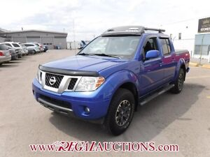 2015 NISSAN FRONTIER PRO-4X CREW CAB 4X4 AT 4.0L PRO-4X