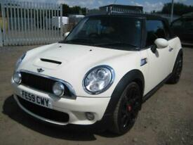image for 2009/59 MINI COOPER S CONVERTIBLE in WHITE ONLY £4495