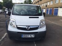 Vauxhall vivaro 2007 low mileage