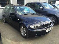 BMW 320 2.0TD auto 2005MY d SE Touring P/X TO CLEAR