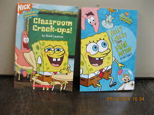 2  SPONGEBOB    BOOKS   LIKE NEW
