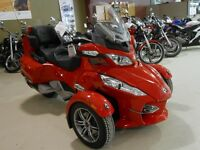 SAVE OVER $10,000 on this 2012 Can-Am Spyder RT-S