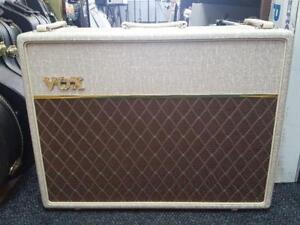 Super Vox AC30 Hand wired 2x12 alnico blue neuf !!!